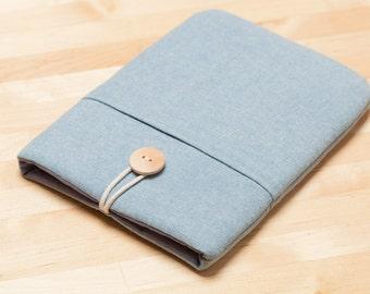 ipad mini sleeve / iPad mini case / ipad mini cover / iPad mini 2 3 4 case - Plain blue-