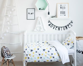 Baby Bedding, Crib Bedding, Nursery Bedding, Bedding Set, Boy Crib Bedding, Toddler Bedding, Duvet Cover, Toddler Duvet Cover, Boy Bedding