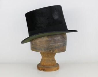 Antique Wooden Hat Form / Hat Stand