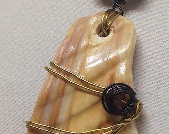 Sea Shell Jewelry,Sea Shell Pendant,Boho Jewelry, Bohemian Jewelry