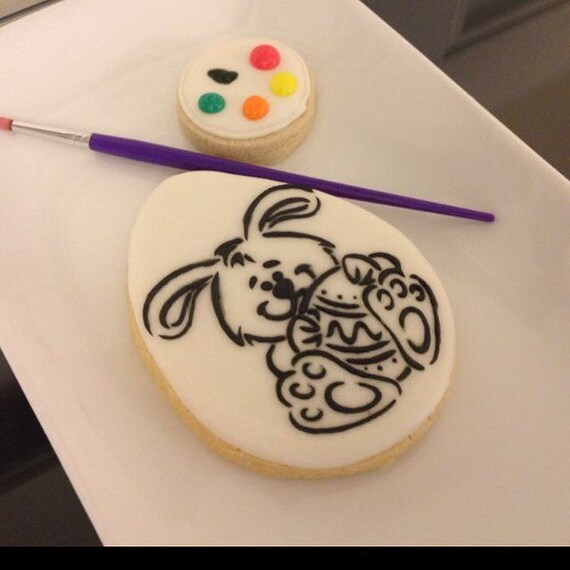 Easter Paint Cookies (pick up only listing)
