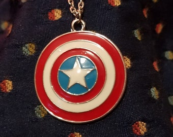 Captain America's Shield Necklace!