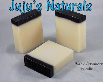 Black Raspberry Vanilla - Handmade Soap