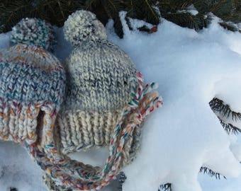 Kose Winter Cozy Slouchy Ear Flap Hat Kids