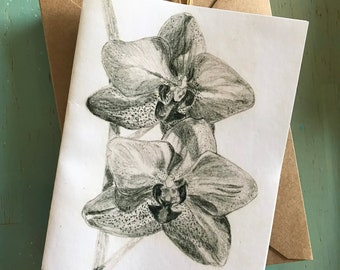 Orchid Notecards