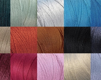 Twine Bamboo Cord 0.7mm - 10 meters / 32.8 ft - 15 colors available