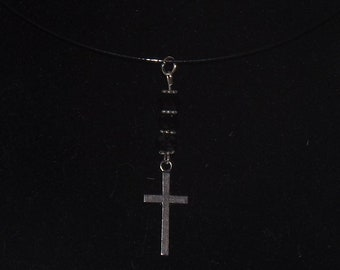 Necklace: Silver Cross