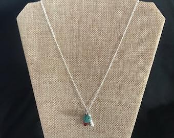 Christmas Dangle Necklace