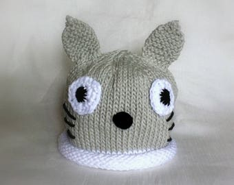 Knit My Neighbor Totoro Hat