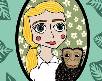 Jane Goodall PRINT