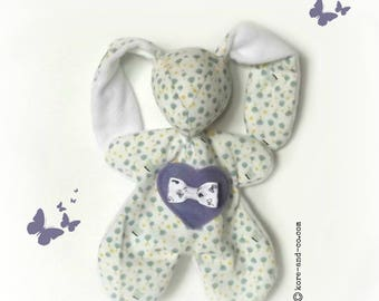The toy for baby, flowers and butterflies. Original, handmade. Standard