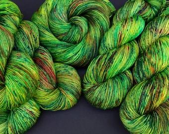 Grena - Sock weight, Hand dyed yarn, Superwash Merino, 463 yardsG