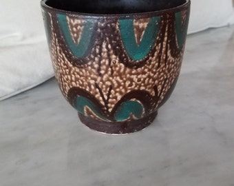 Mid century modern ceramic vase