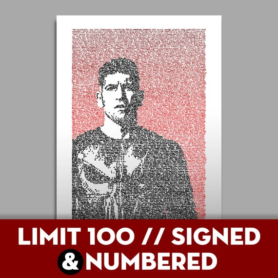 The Punisher - 1/100 SIGNED & NUMBERED