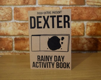 Dexter Rainy Day Activity & Colouring Book