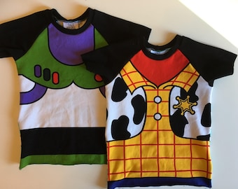 Toy Story, Buzz, Woody, kid shirt, toddler shirt , birthday outfit, hipster toddler