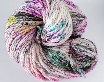 Graffiti , Hand Painted Indie Dyed Yarn, Dyed to Order