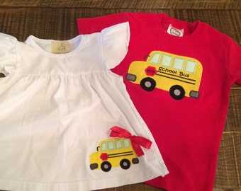 Back to School Bus Shirt