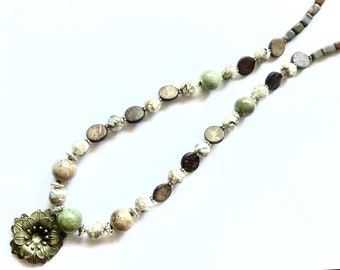 Boho Chic Necklace and Earring Set