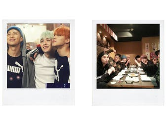 BTS Group Polaroids pt.2