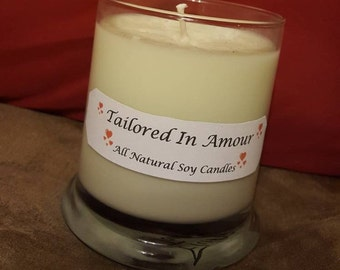 All Natural Soy Candles, Handmade, Hand Poured, Scented Candle