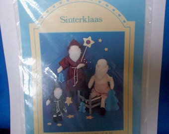 Sinterklaas Nederlands St Nicholas naaien patroon