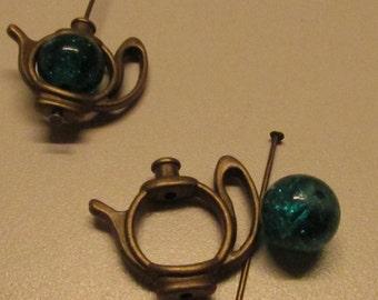 D-02122 - 1 Set Teapot Pendant