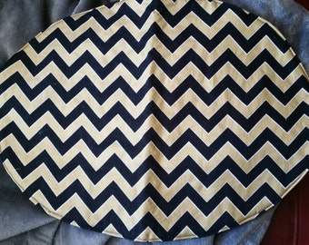 Chevron/Dot Reversible Placemats (set of 4)