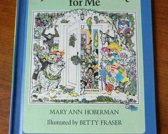A House Is A House for Me by Mary Ann Hoberson Illustrated by Betty Fraser p. 1978