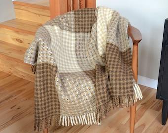 Tidstrand Wool Throw Designed by Kerstin Albrektsson Made in Sweden