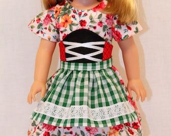 L'il Miss Pretend,  Doll Dress and Cape, Little Red Riding Hood