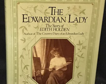 "Vintage Book Victorian ""The Edwardian Lady"" Book Victorian Decor"