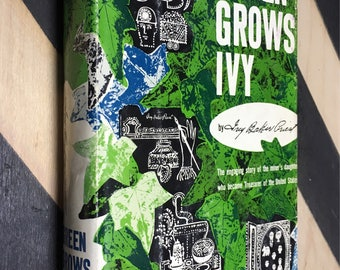 Green Grows Ivy by Ivy Baker Priest (Hardcover, 1958) vintage book SIGNED copy