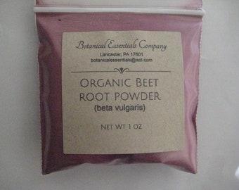 Organic Red Beet Powder 1 ounce | Natural Dye | Crafts, Cosmetics, Egg Dye, Fabrics, Candles