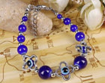 Tibet Jade Turquoise Bead Bracelet