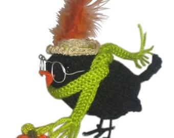 LADY CROW Pdf Email Knit PATTERN