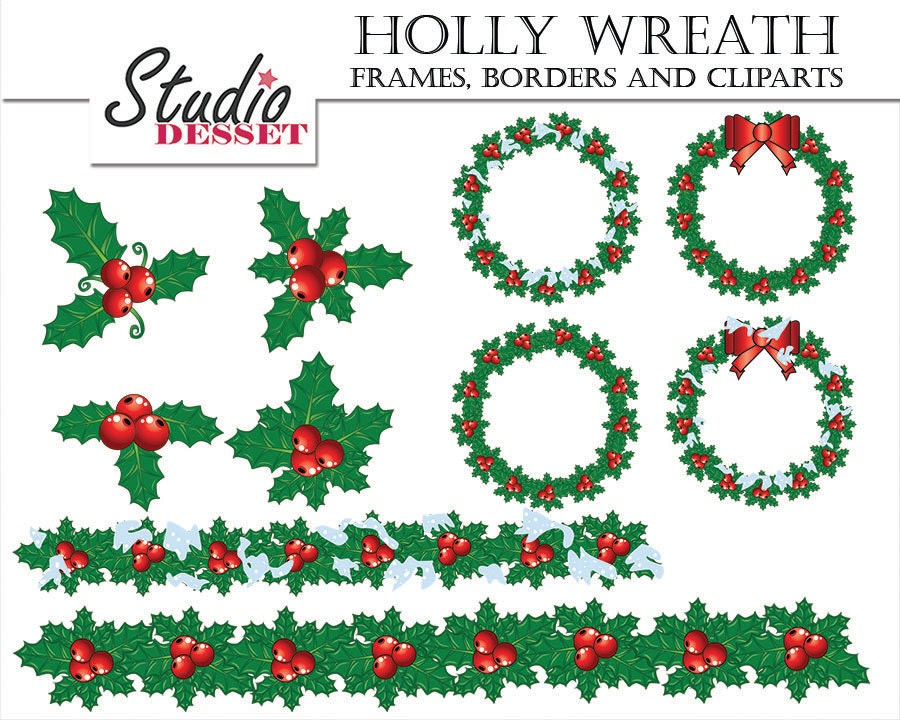 Awesome Christmas Borders And Frames Embellishment - Custom Picture ...