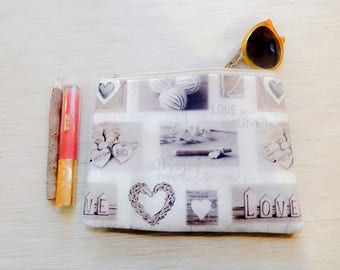 Mothers Day Gift/ Gift for Her/ Gift for Mom/ Best Friend Gift/ Pencil Case/ Bridesmaid Gift/ Girlfriend Gift/ Make Up Bag/ Sister Gift