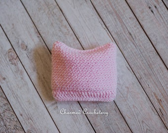 Crocheted Pussy Hat Beanie