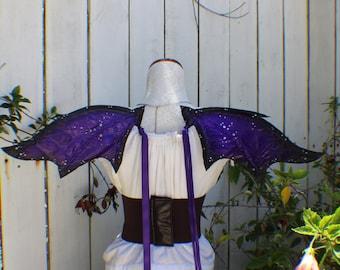 Small purple dragon wings