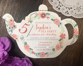 Teacup Invitations Koran Sticken Co