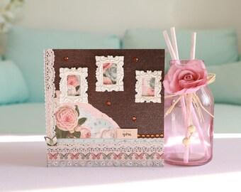 Congratulations wedding married card + envelope