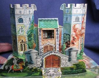 Vintage pop-up book - Bookano Stories No. 14 - S. Louis Giraud - vintage toy