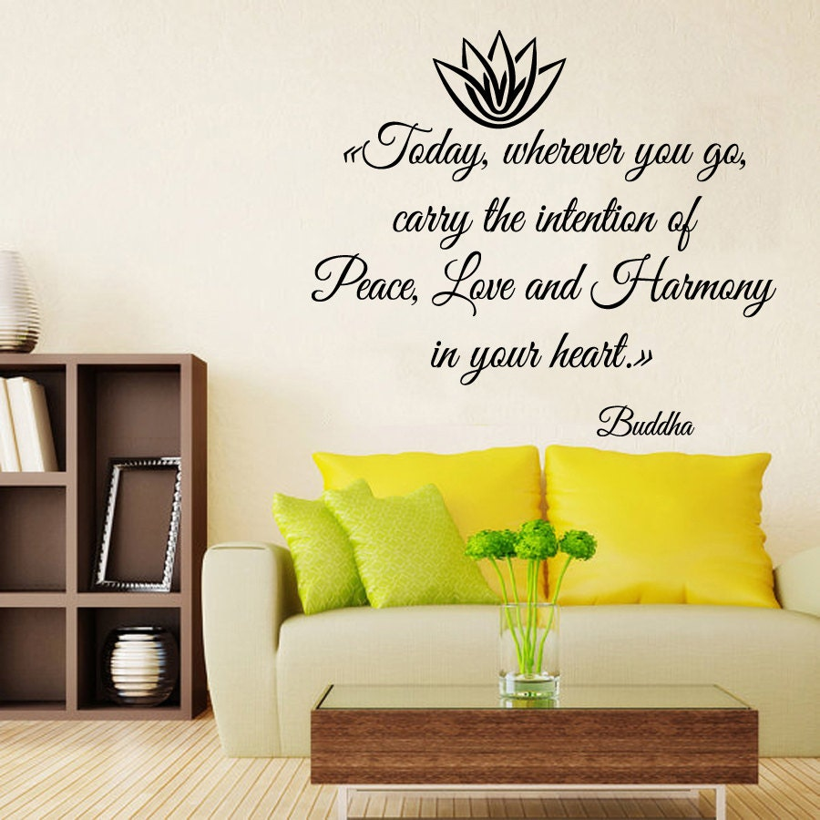 Famous Vinyl Wall Quotes For Living Room Embellishment - The Wall ...