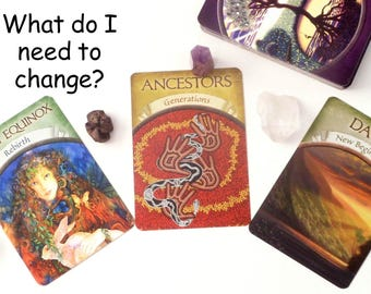 Tarot Card Reading for Change, Same Day Tarot Reading Psychic Reading, Same Day Reading by Clairvoyant Empath w Oracle Cards or Mystic Tarot