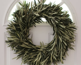 """Olive Branch Wreath - 20"""" Easter"""