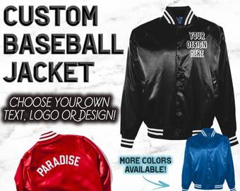 Varsity Jacket - Bomber Jacket - Custom Jacket - Tumblr Clothing - OVO - Drake - Justin Bieber - Purpose Tour - Notorious BIG - Customized