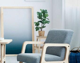 Scandinavian, Mid Century Modern Armchair FRISK R