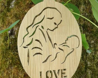 Decorative decor for your home, tribute to the Moms