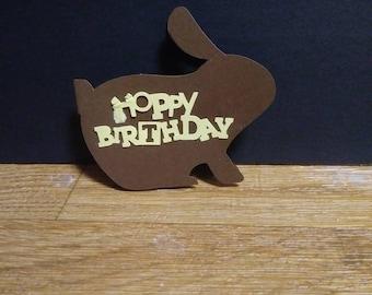 Hoppy birthday card etsy hoppy birthday card bookmarktalkfo Images